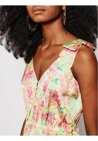 Guess Sukienka letnia W1GK1C WCUN0 Kolorowy Regular Fit. Wzór: kolorowy. Sezon: lato