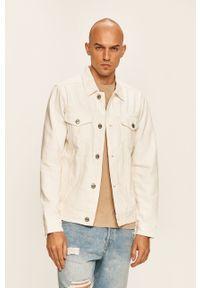 Biała kurtka PRODUKT by Jack & Jones na co dzień, casualowa