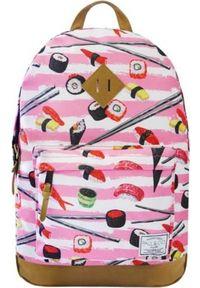 Różowy plecak Incood