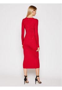 Czerwona sukienka dzianinowa TwinSet