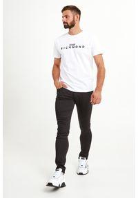 T-shirt John Richmond elegancki, w kolorowe wzory