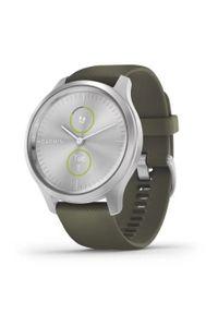GARMIN - Smartwatch Garmin Vivomove Style srebrny. Rodzaj zegarka: smartwatch. Kolor: srebrny. Materiał: nylon. Styl: klasyczny, elegancki