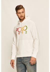 Biała bluza nierozpinana Polo Ralph Lauren z nadrukiem, na co dzień