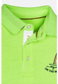 T-shirt polo Mayoral z aplikacjami, krótki