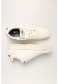 Białe sneakersy G-Star RAW z cholewką, na sznurówki