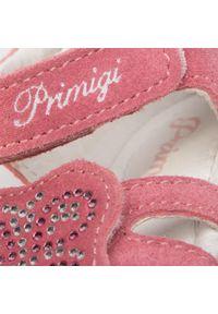 Różowe sandały Primigi z aplikacjami, na lato