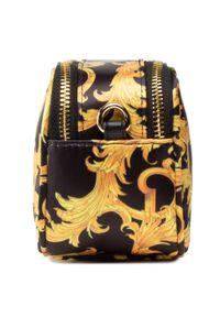 Versace Jeans Couture - Torebka VERSACE JEANS COUTURE - E1VWABT1 71885 M27. Kolor: wielokolorowy, żółty, czarny. Styl: wizytowy. Rodzaj torebki: na ramię