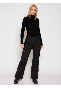 Czarne spodnie sportowe Salewa narciarskie