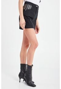 Patrizia Pepe - SPÓDNICA JEANSOWA PATRIZIA PEPE. Materiał: jeans. Styl: klasyczny