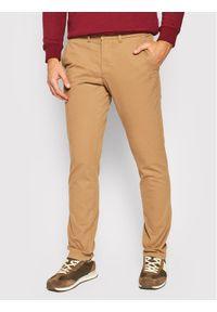 Beżowe spodnie Napapijri