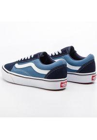 Niebieskie buty sportowe Vans