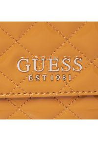 Pomarańczowa torebka klasyczna Guess klasyczna
