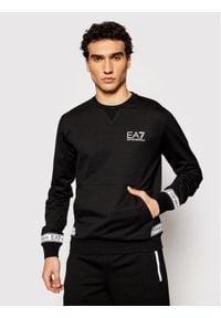 EA7 Emporio Armani Bluza 3KPM22 PJ05Z 1200 Czarny Regular Fit. Kolor: czarny