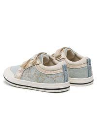 Mayoral - Trampki MAYORAL - 41250 Jeans 76. Zapięcie: rzepy. Kolor: niebieski. Materiał: materiał. Szerokość cholewki: normalna. Wzór: aplikacja #5
