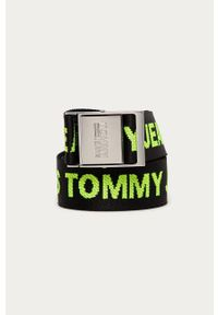 Czarny pasek Tommy Jeans