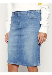Niebieska spódnica jeansowa Laurèl