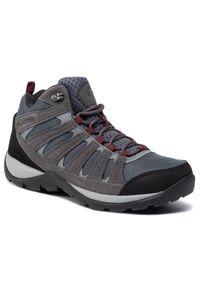 Szare buty trekkingowe columbia trekkingowe