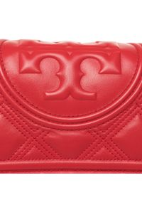 Czerwona kopertówka Tory Burch