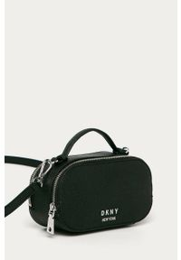 Czarna listonoszka DKNY mała, na ramię