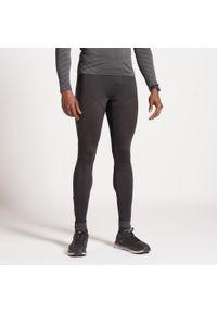 KIPRUN - Legginsy Do Biegania Męskie Kiprun Dry. Kolor: czarny. Materiał: poliester, elastan, materiał. Sport: fitness