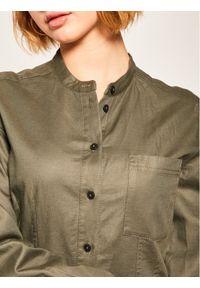 Zielona sukienka Marc O'Polo koszulowa, polo