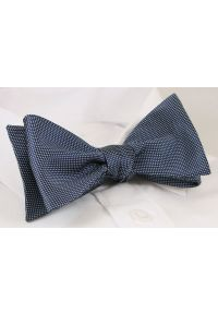 Niebieska muszka EM Men's Accessories elegancka