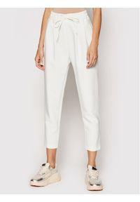 Białe spodnie materiałowe Rinascimento