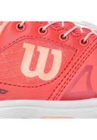 Pomarańczowe buty do tenisa Wilson