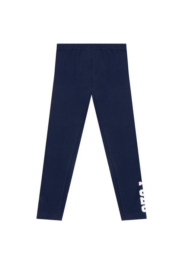 Niebieskie legginsy Polo Ralph Lauren