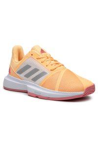 Pomarańczowe buty do tenisa Adidas