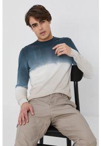 Sisley - Sweter. Okazja: na co dzień. Długość rękawa: długi rękaw. Długość: długie. Styl: casual