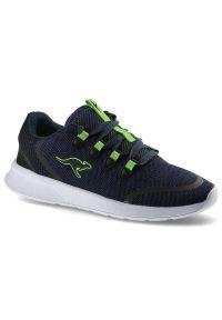 Kangaross - Sneakersy KANGAROSS 18318 000 4054 Kf Lock Dk Navy/Lime