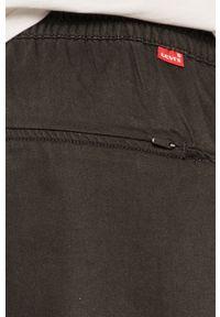 Czarne spodnie Levi's® gładkie, na spotkanie biznesowe, biznesowe