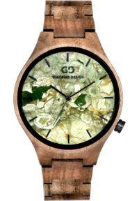 Brązowy zegarek Giacomo Design