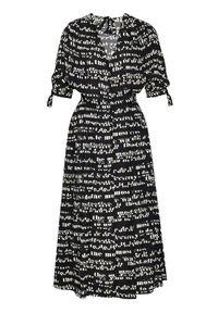 Czarna sukienka letnia Sportmax Code