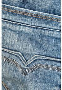 Niebieskie jeansy Pepe Jeans z aplikacjami