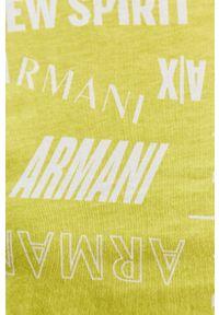 Bluzka Armani Exchange na co dzień, casualowa