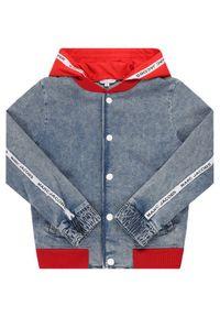 Niebieska kurtka przejściowa Little Marc Jacobs