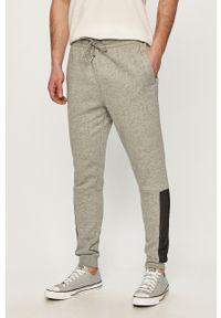 Szare spodnie dresowe Converse gładkie