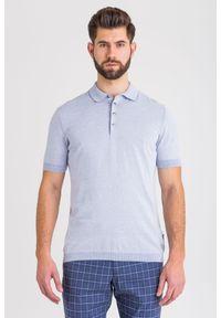 Koszulka polo JOOP! Jeans sportowa, polo, w kolorowe wzory