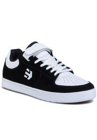 Etnies - Sneakersy ETNIES - Joslin 2 4102000139 Black/White 976. Okazja: na co dzień. Kolor: czarny. Materiał: zamsz, materiał, skóra ekologiczna, skóra. Szerokość cholewki: normalna. Styl: casual
