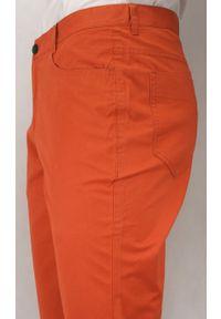 Brązowe spodnie Ezreal w kolorowe wzory