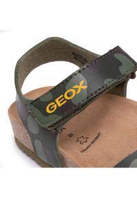 Geox Sandały J Ghita B. B J028LB 000BC C3009 S Zielony. Kolor: zielony