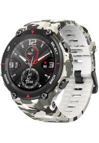AMAZFIT - Amazfit T-Rex, Camo Green. Rodzaj zegarka: smartwatch. Kolor: zielony, wielokolorowy, szary. Styl: sportowy, militarny