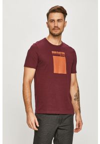 Brązowy t-shirt Only & Sons