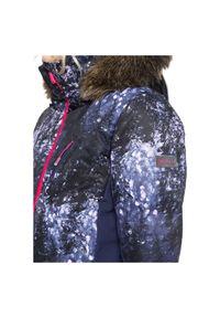 Kurtka damska snowboardowa Roxy Snowstorm Plus ERJTJ03240. Materiał: puch, futro, materiał, mikrofibra, włókno, syntetyk, poliester. Technologia: Primaloft. Sezon: zima. Sport: snowboard
