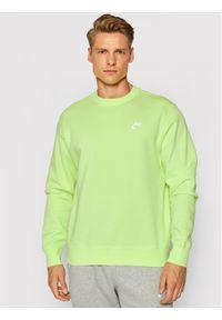 Nike Bluza Sportswear Club Fleece BV2662 Zielony Standard Fit. Kolor: zielony