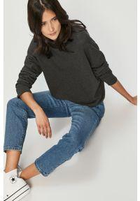 Niebieskie proste jeansy Noisy may