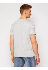 Champion T-Shirt Small C Logo 214674 Szary Custom Fit. Kolor: szary