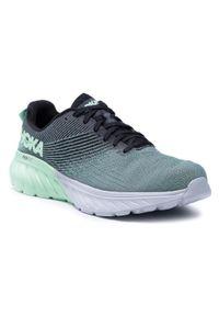 Zielone buty do biegania Hoka One One